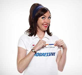 flo the progressive girl